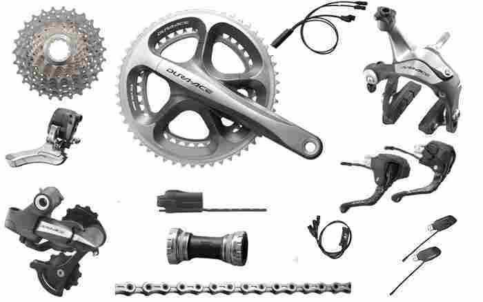Shimano 2012 Dura-Ace Di2 Electronic Group.........1,490 usd kimberley